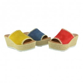 Clog esparto wedge