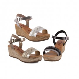 Sandals wedge plant gel tekila