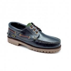 Zapato Náutico Piel Marino
