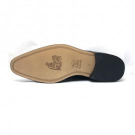Zapatos hombre charol serraje negro
