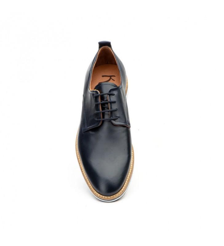 Men Shoes Leather Laces 3
