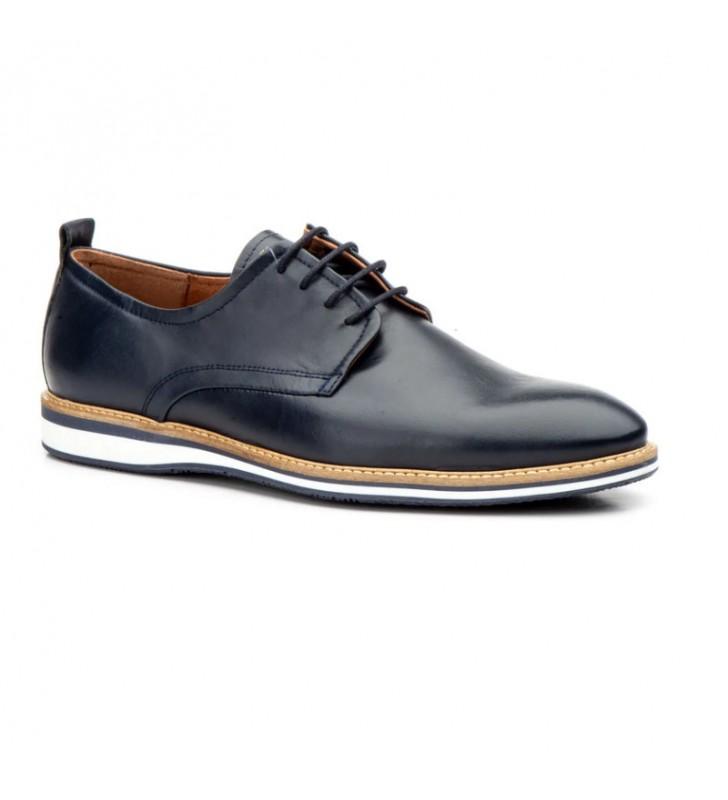 Men Shoes Leather Laces 4