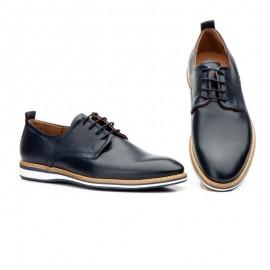 Zapatos Hombre Cordones Piel