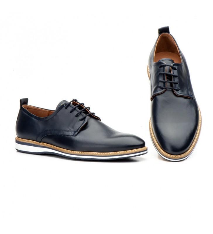 Men Shoes Leather Laces