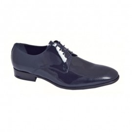 Navy Patent Leather Ceremony