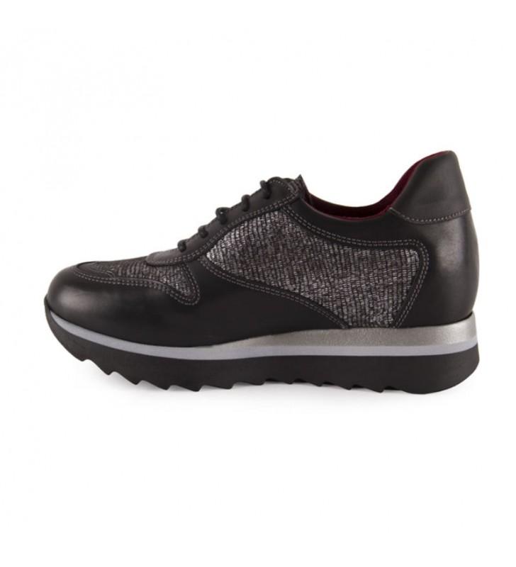 Zapatos Mujer Con Cuña Interior