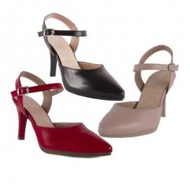 Zapatos Mujer Ceremonia Piel