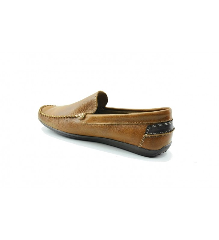 Moccasin man leather cheap