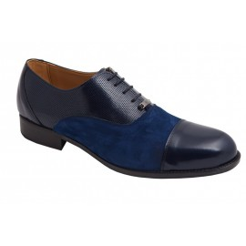 Zapatos Caballero Marrón Piel Ante 1