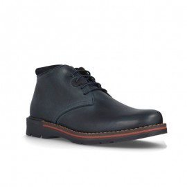 Casual men's leather ankle boots
