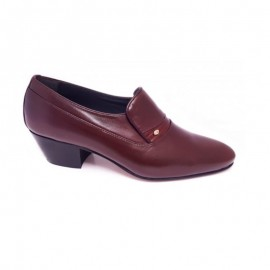 Cuban heeled shoes man