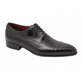 Zapatos Hombre Vestir Piel Negra