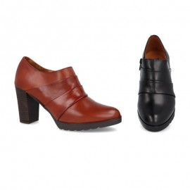 Women's leather dress shoe