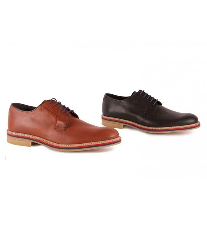 893c7295 Zapatos Piel Hombre Vestir Becool 1