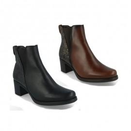Leather boots DOS DE DOS