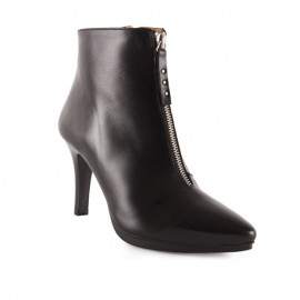 Elegant dress woman ankle boots
