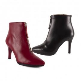 Elegant dress woman ankle boots