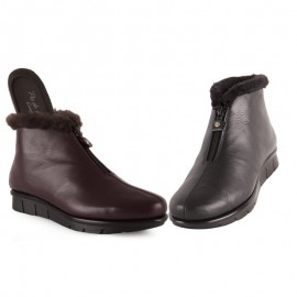 Women's ankle boots removable insole