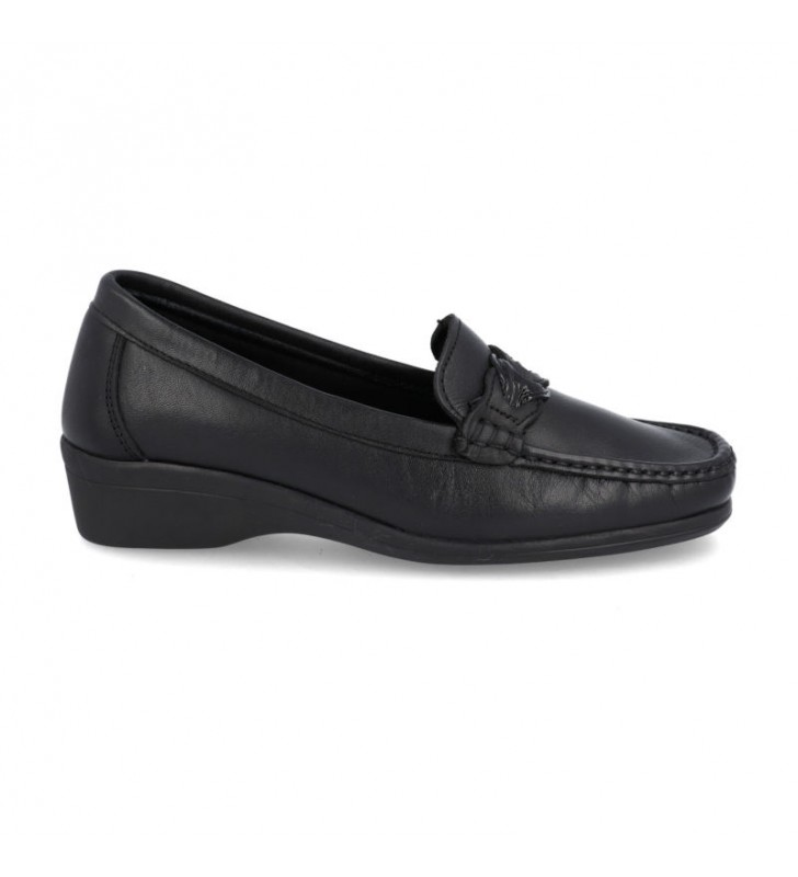 Moccasin Woman Comfort Leather