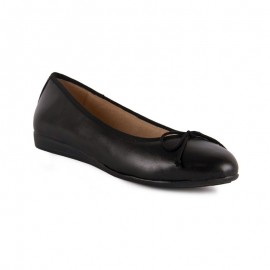 Comfortable Ballerina Leather Gel
