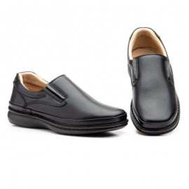 Comfortable leather moccasins