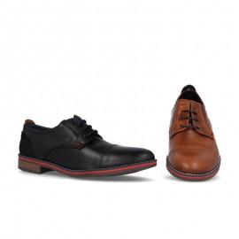 Zapato caballero piel tacón