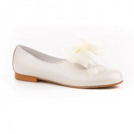 Zapatos piel niña Ceremonia