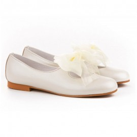 Girl leather shoes Ceremony