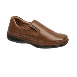 Comfortable leather leather loafers