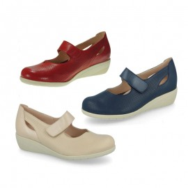 Zapatos mujer confort velcro