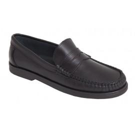 Zapatos Piel Chico Colegial Escolares 1