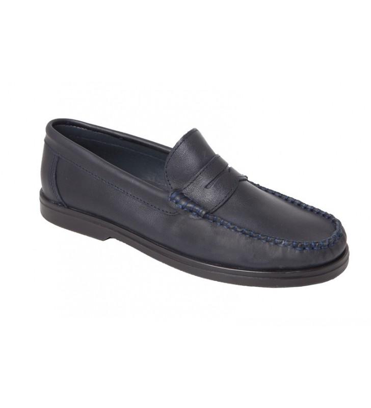 Zapatos Piel Chico Colegial Escolares