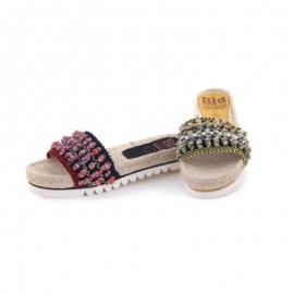 Esparto flat sandals