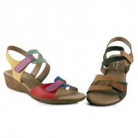 Sandalias comodas velcro