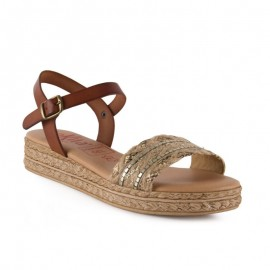 Jute gel comfortable sandal