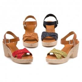 Sandalias tacón alto elegantes