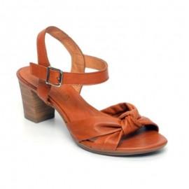 Sandalias mujer tacón cómodas cuero