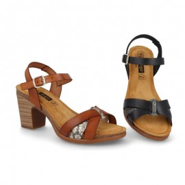 Bio heeled sandals