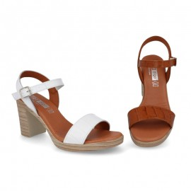 Women's heeled dress sandals