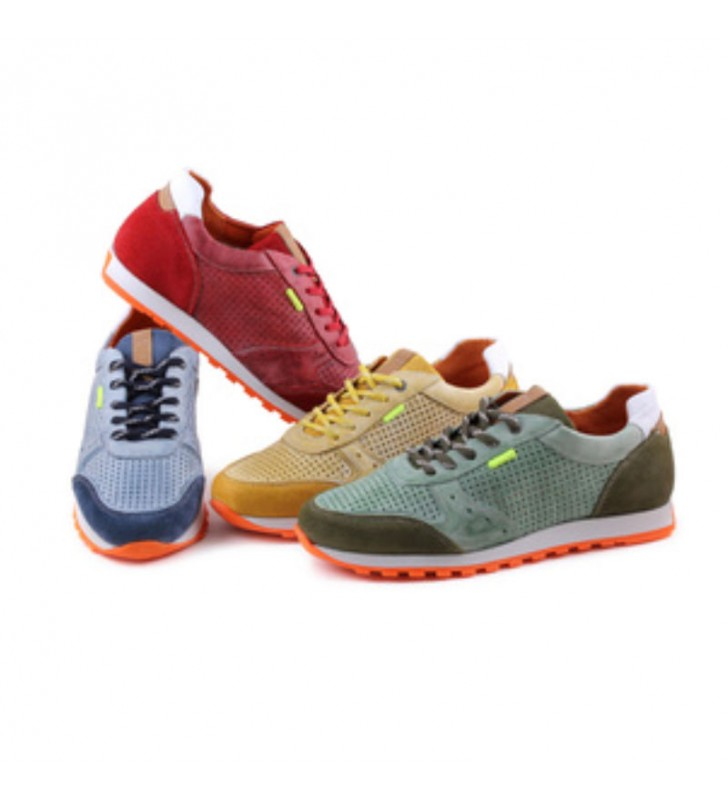 Urban leather casual sneakers