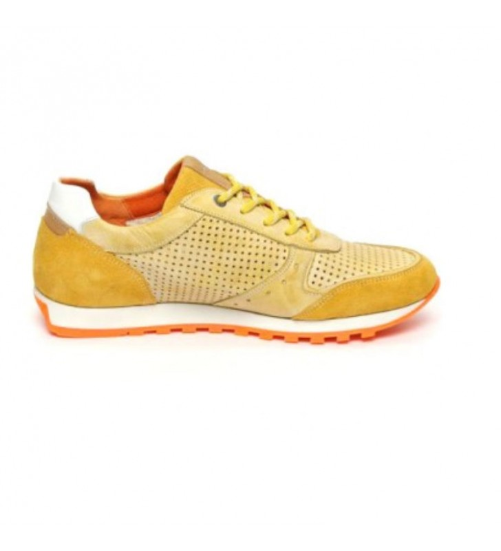 Urban leather casual sneakers 2