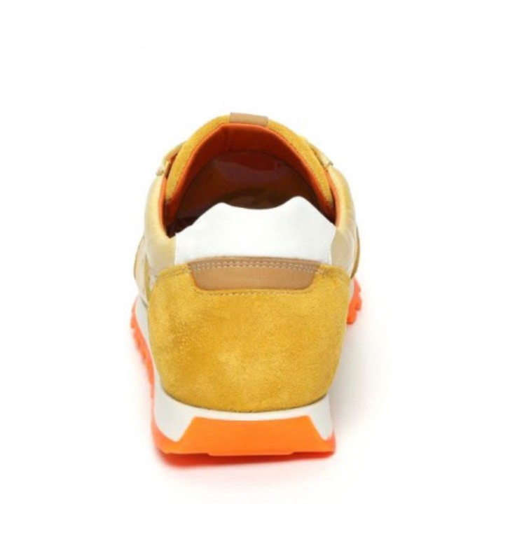 Urban leather casual sneakers 3