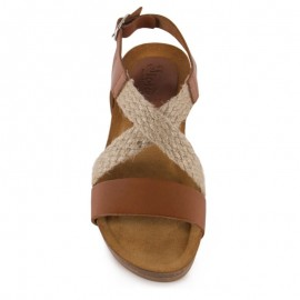 Esparto bio wedge sandals 1