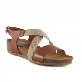 Esparto bio wedge sandals
