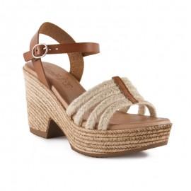 Gel comfort heel sandals
