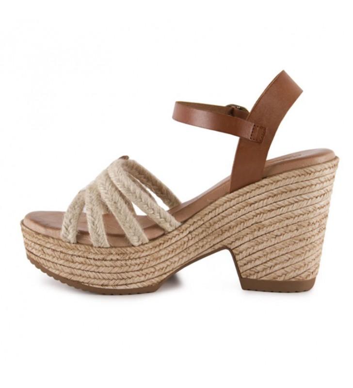 Gel comfort heel sandals 1
