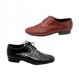 Man leather shoe width 10