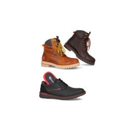 Autumn winter collection shoes, ankle boots and boots for men leather