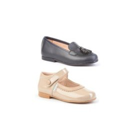 Youth Footwear Girl and Boy skin made in Spain