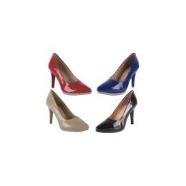 Zapatos mujer Salones tacón alto de piel, Cómodos hechos en España